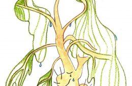 Trauriger Baum